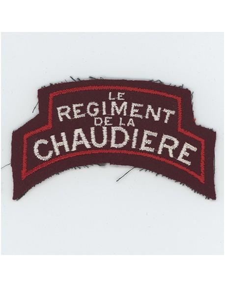 Title, Batlle of Normandy, Chaudière Regiment Canada