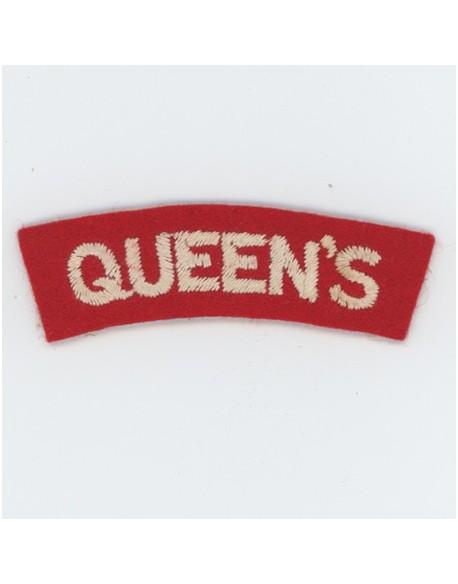 Title Queens Rgt.