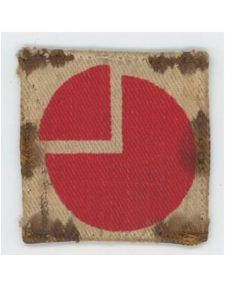 Insigne de la 4th Division, 1st pattern, porté
