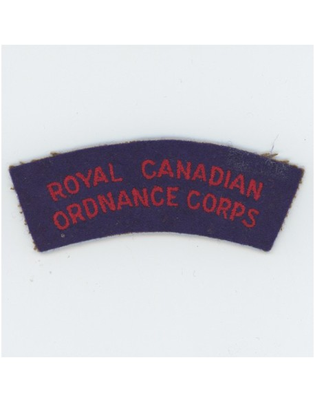 Title Royal Canadian Ordnance Corps