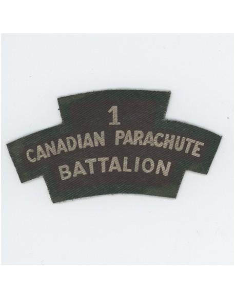 Insigne bataille de Normandie 1st Canadian Parachute Battalion