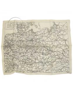 Carte d'évasion en soie, MI.9.