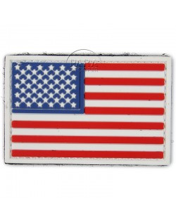Patch, Tactical, American flag, 3D