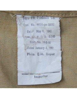 Bag, Barrack, 1942