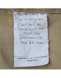 Sac paquetage (Barrack Bag), 1942