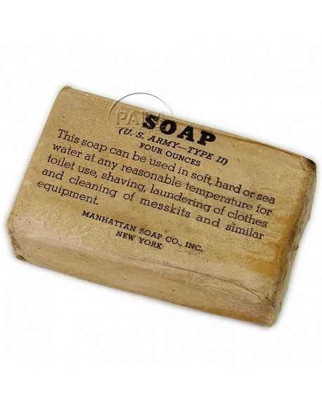 Soap, US Army, Type II, 4 ounces