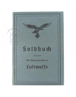 Soldbuch, Luftwaffe, aged