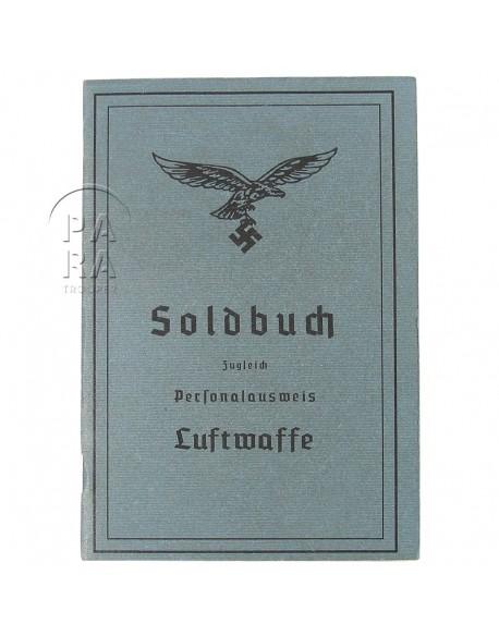 Soldbuch Luftwaffe, patiné