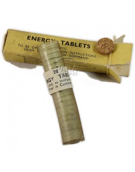 Boite de pilules énergisante, Energy Tablets