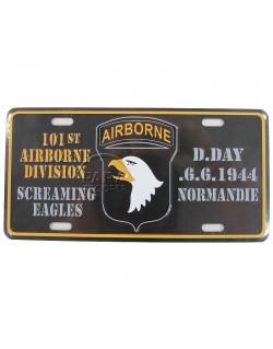 Postal plaque, 101st Airborne Division