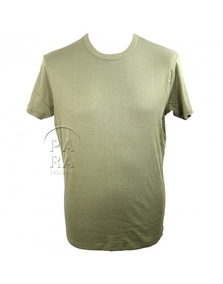 T-shirt US Army, OD, cintré