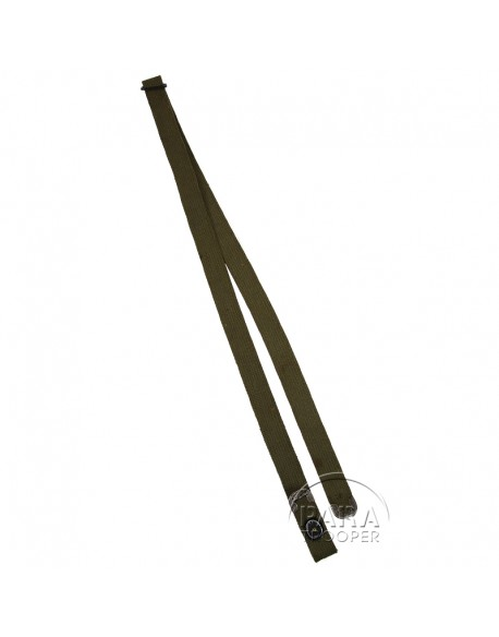 Bretelle en toile OD pour carabine USM1
