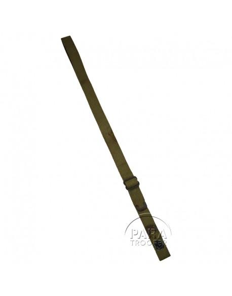 Bretelle en toile kaki clair pour carabine USM1