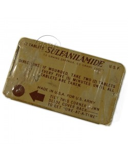 Boite de sulfanilamide, Lerdele