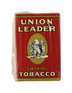 Paquet de tabac américain Union Leader, US Army