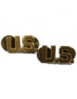 Insignia, Collar, Officer, US
