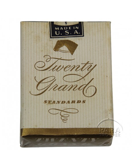 Paquet de cigarettes Twenty Grand