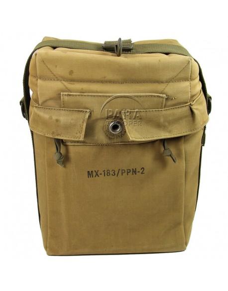 Bag, felt-padded, for PPN-2 beacon