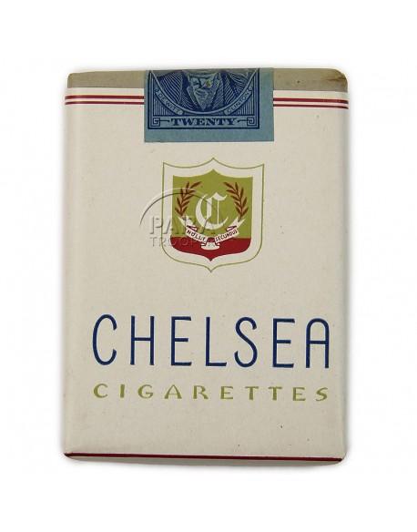 Paquet de cigarettes Chelsea, 1945