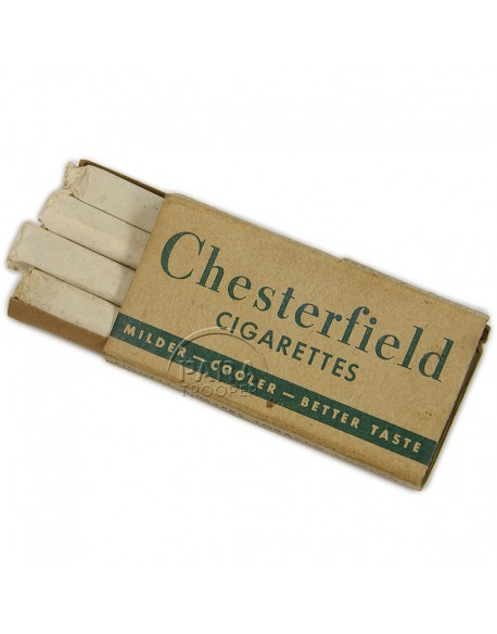 Cigarettes de ration K, Chesterfield