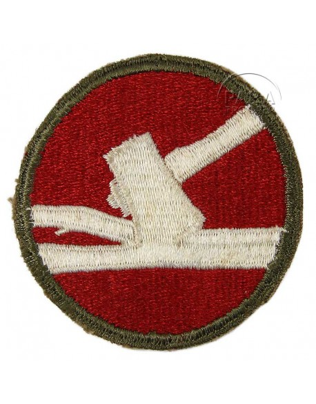 Patch, 84th Infantry Division, Green Back