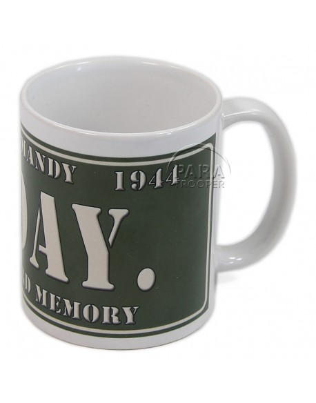 Mug plaque D-Day