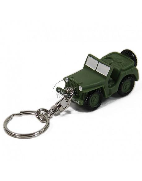 Porte-clés PVC Jeep