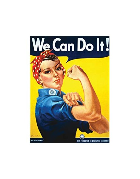 Poster, We Can Do It!
