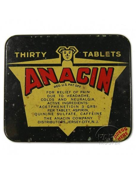Pills, aspirin, Anacin
