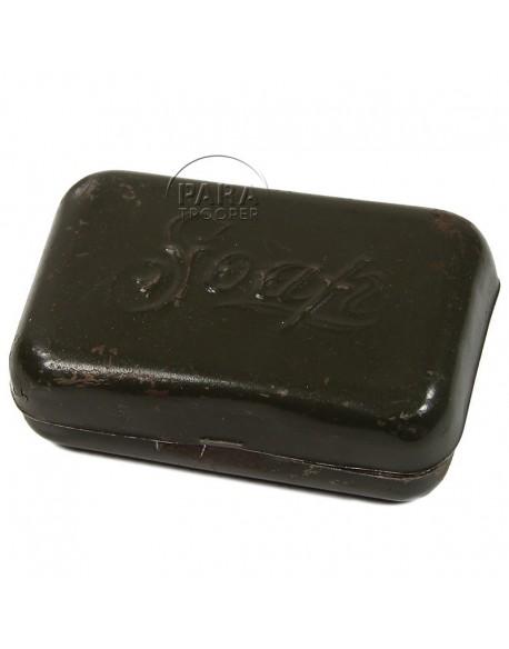 Boite à savon, métal, US Army