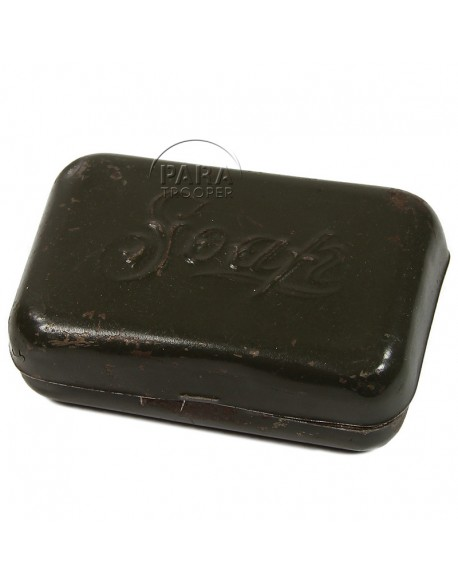 Box, Soap, metal, US Army