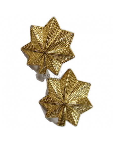 Earrings, US Army, Sweetheart, Gold plated sterling