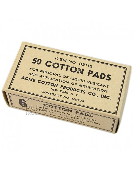 Cotton, 50 pads, Item N°92118