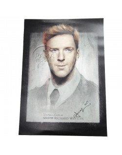 Poster, Damian Lewis / Maj Winters, Band of Brothers