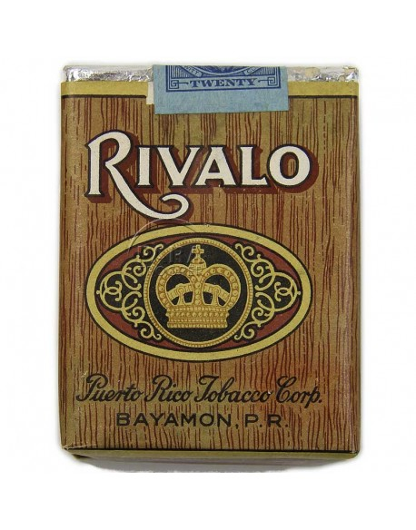 Paquet de cigarettes Rivalo, 1944
