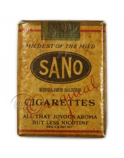 Paquet de cigarettes Sano, 1944