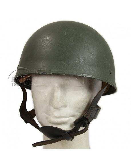 Casque de parachutiste, MK2, jugulaires cuir, 1943