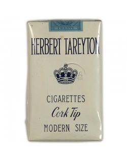 Paquet de cigarettes Herbert Tareyton, 1940
