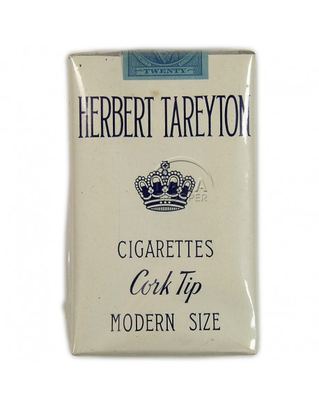 Cigarettes, Herbert Tareyton, pack, 1940