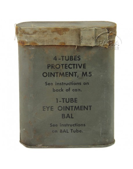 Kit, Protective ointment M5 - D-DAY type