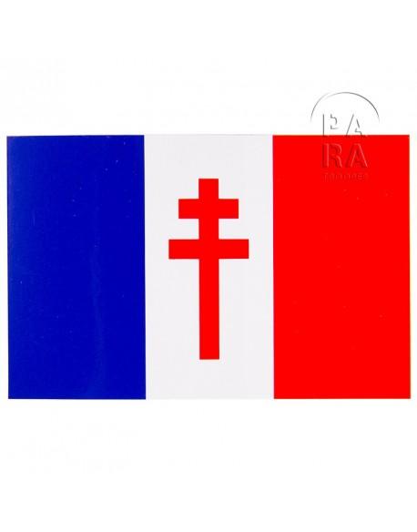 Autocollant France Libre