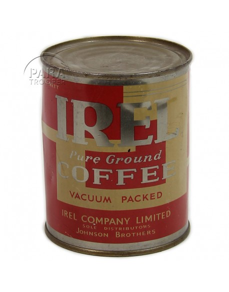 Johnson IREL coffee ration can (10 in 1), 8 oz.net
