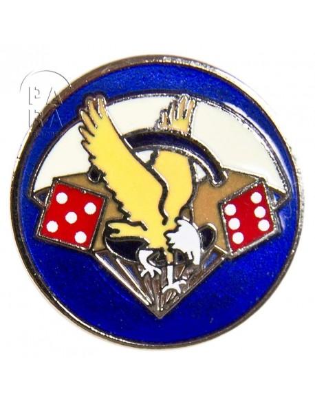 Pin's métallique du 506e régiment parachutiste