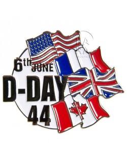 Crest métallique D-Day