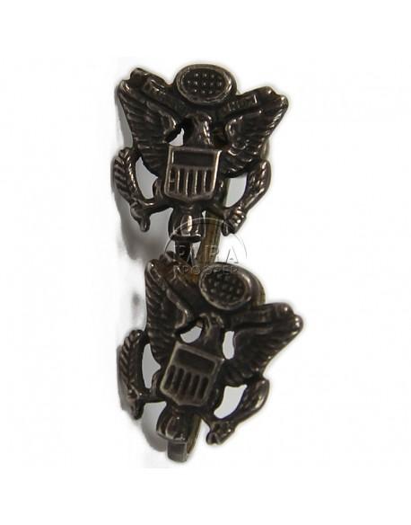 Earrings, US Army, Sweetheart, Sterling