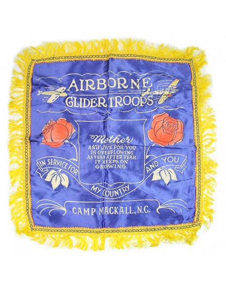 Housse de coussin, Airborne, Camp Mackall