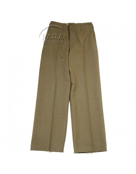 Pantalon en laine moutarde, 26 x 31, 1940
