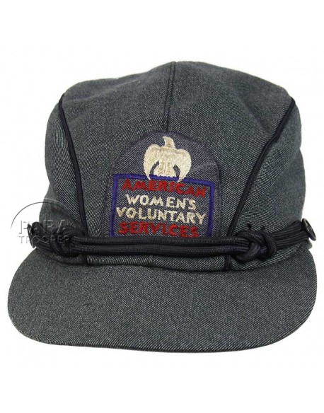 Casquette American Red Cross, WVS, nominative