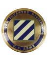 Plaque émaillée, 3rd Infantry Division