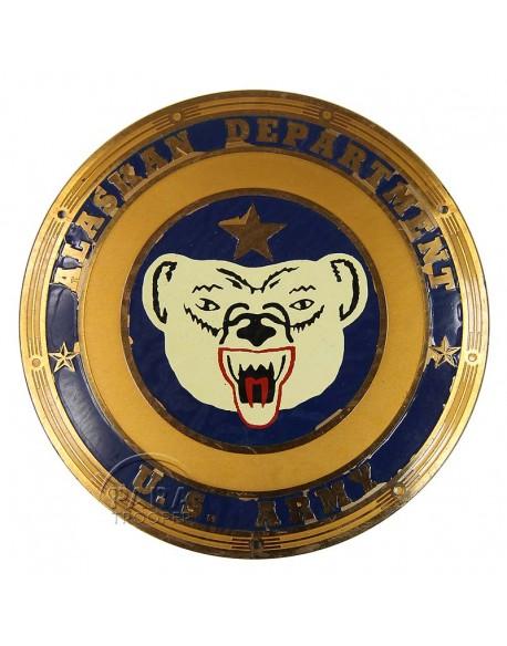 Plate, Enamel, Alaskan Department